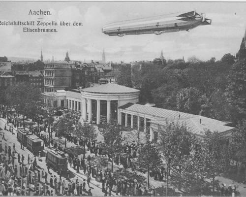 Elisenbrunnen Aachen um 1910