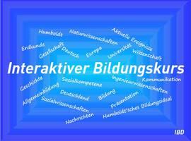 Interaktiver Bildungskurs - Deutsch