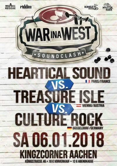 War ina West Soundclash 2018
