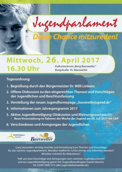 Tagung des Jugendparlaments Baesweiler