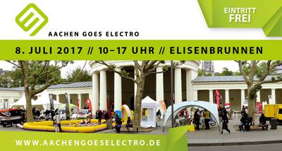 Aachen goes electro