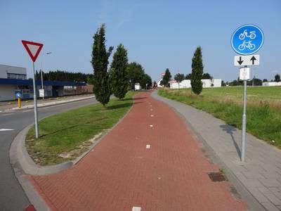 Radschnellweg Euregio: Aachen - Herzogenrath / Kerkrade / Heerlen